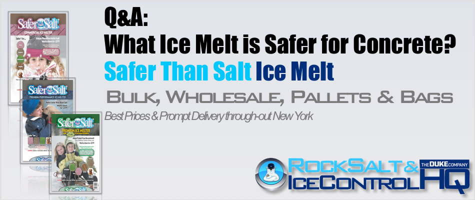 Picture of What Ice Melt is Safer for Concrete