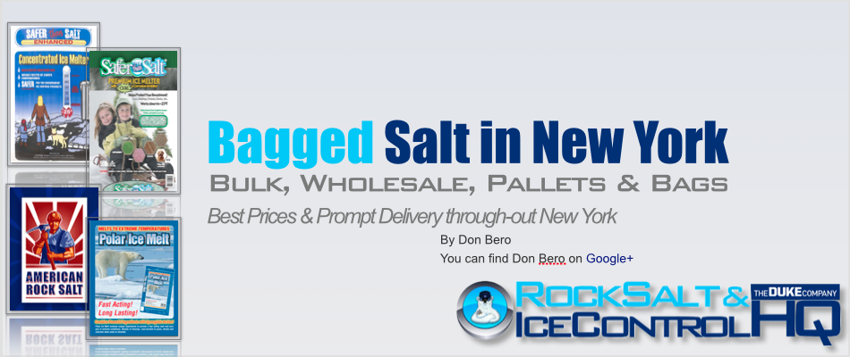 Picture of Bagged Salt in New York