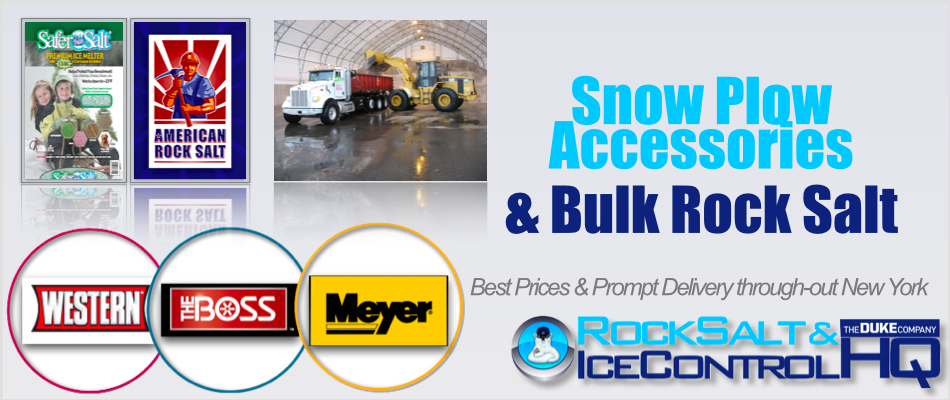 Picture of Snow Plow Accessories and Bulk Rock Salt in NY