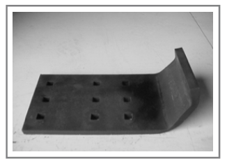 OST-1550 Steel Curb Snow Bumper