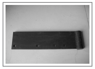 OST-1590 Steel Curb Snow Snow