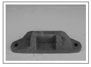PNS-12 Cast Snow Plow Shoe