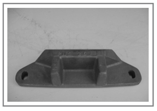 PNS-26 Cast Snow Plow Shoe