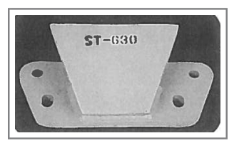 ST-630 Steel Snow Plow Shoe