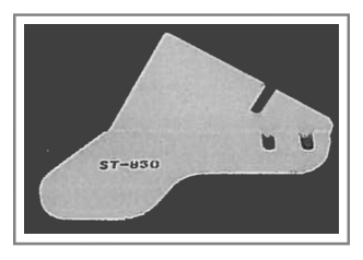 ST-850 Steel Snow Plow Shoe
