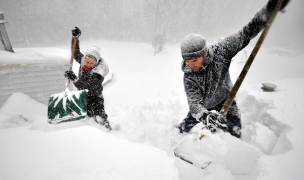 Washington Post - Take This Snow and Shovel It