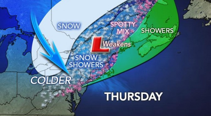 Upstate NY Weather for December 11 2014