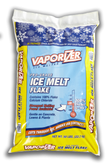 Vaporizer Ice Melt Flake Made from Calcium Chloride Flake