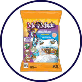 Mr. Magic Ice Melter and Packaged Deicer