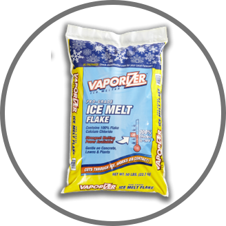 Vaporizer Deicer and Ice Melt